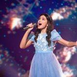 Sofia Feskova, representante de Rusia, en la Gran Final de Eurovisión Junior 2020