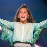 Soleá, representante de España, en la Gran Final de Eurovisión Junior 2020