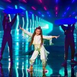 "Soleá Morente, representante de España, baila su tema ""Palante"" en la Gran Final de Eurovisión Junior 2020"