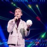 Oleksandr Balabanov, representante de Ucrania, en la Gran Final de Eurovisión Junior 2020