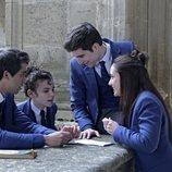 Paul, Adele, Manu y Amaia, en 'El internado: Las Cumbres'