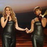 Cristina Ramos y Soraya Arnelas son Mariah Carey y Whitney Houston en la Gala 12 de 'Tu cara me suena 8'