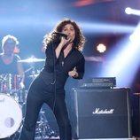Carla Hidalgo es Enrique Bunbury en la Gala 12 de 'Tu cara me suena 8'