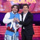 El Monaguillo gana la Gala 12 de 'Tu cara me suena 8'