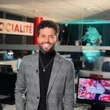 El redactor Javier de Hoyos en el debut de 'Socialité' en el access