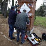 La placa en homenaje a La Veneno vuelve al Parque del Oeste