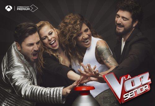 Póster de la segunda edición de 'La Voz Senior'