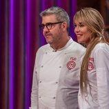 Raquel Meroño y Florentino Fernández esperan la decisión del jurado en 'MasterChef Celebrity 5'