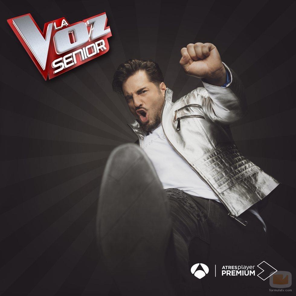 David Bustamante en la segunda edición de 'La Voz Senior'
