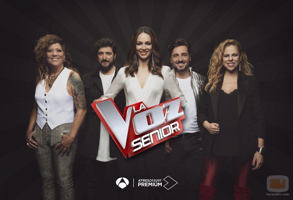 Cartel de la segunda edición de 'La Voz Senior'