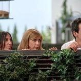 Paz Padilla, Eva Isanta y Pablo Chiapella juntos en 'La que se avecina'
