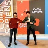 Ricardo Gómez y Miguel Ángel Muñoz en 'Como Sapiens'
