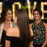Yoli junto a Olimpia e Irene en 'FoQ: El reencuentro'