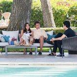 Yoli y su prometido con Gorka y Jan en 'FoQ: El reencuentro'