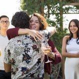 Cabano abraza a Cova en 'FoQ: El reencuentro'