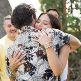 Cabano abraza a Yoli en 'FoQ: El reencuentro'