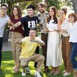 El grupo de amigos en 'FoQ: El reencuentro'