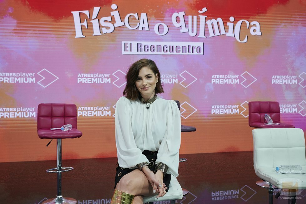 Andrea Duro en la rueda de prensa de 'FoQ: El reencuentro'