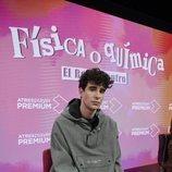 Javier Calvo en la rueda de prensa de 'FoQ: El reencuentro'