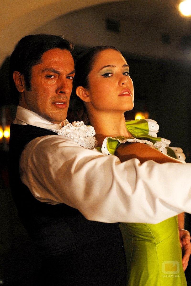 Rafael Amargo y Elsa Pinilla
