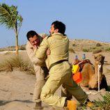 Pepón Nieto y Paco Tous se pelean en 'Los hombres de Paco'