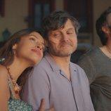 Salva Reina, Ana Verónica Schultz y Pedro Ángel Roca en 'Deudas'
