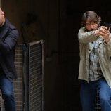 Alain Hernández y Félix Gómez son dos agentes de la guardia civil en 'La caza. Tramuntana'