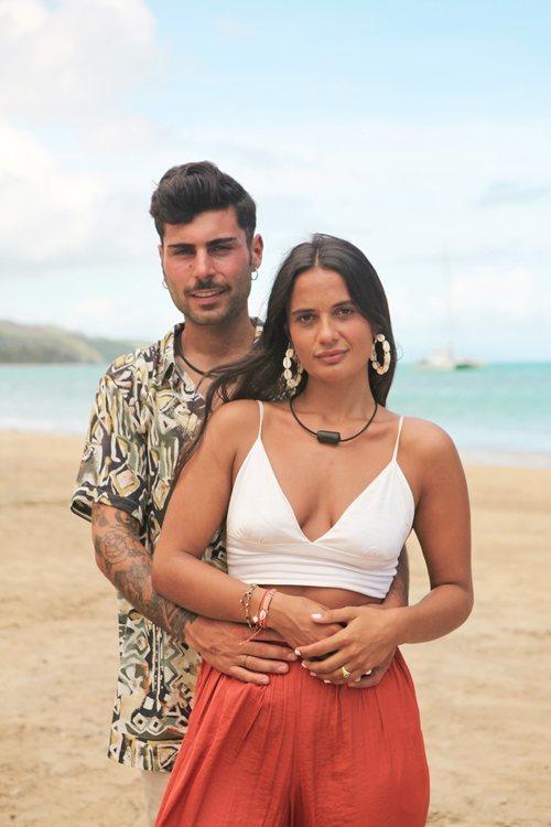 Hugo y Lara, pareja de 'La isla de las tentaciones 3'