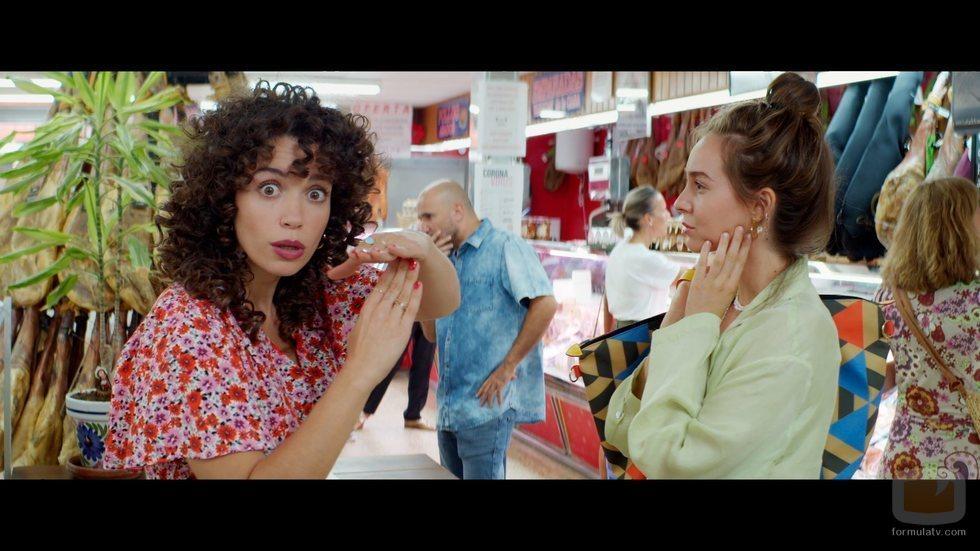 Amelia y Luisita en la tercera temporada de '#Luimelia'