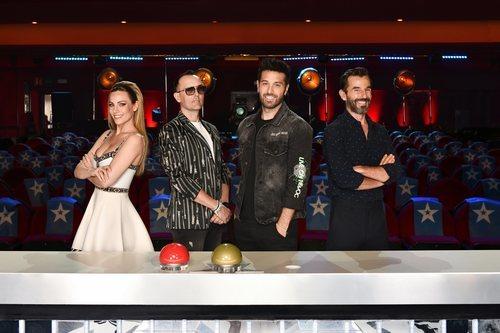 Presentador y miembros del jurado de la sexta edición de 'Got Talent España'