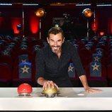 Santi Millán en el panel del jurado de la sexta edición de 'Got Talent España'