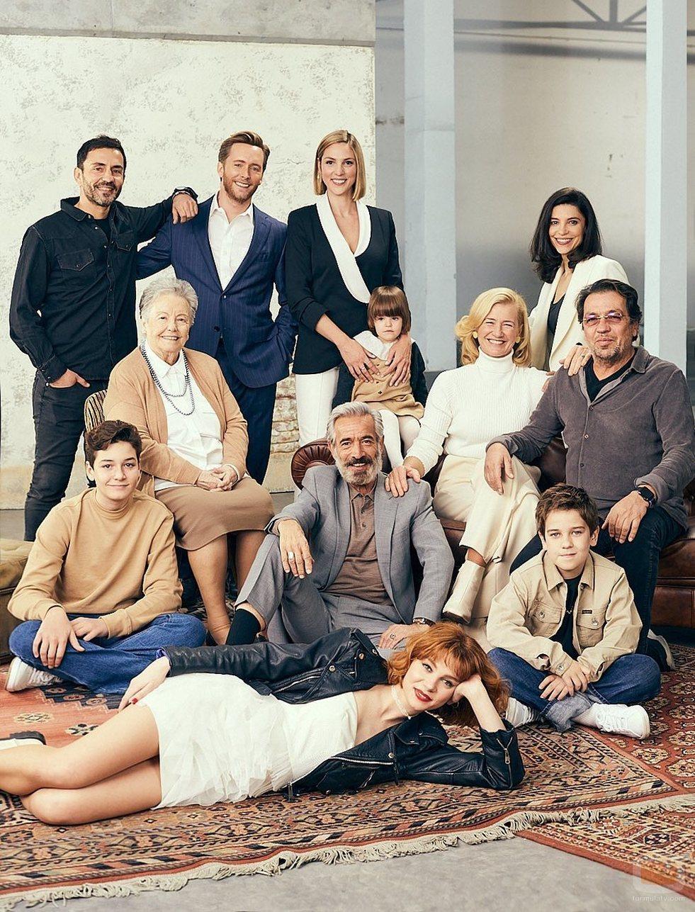 El reparto y los productores de 'Cuéntame cómo pasó'