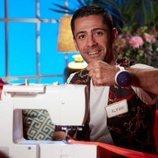 Álvaro, aprendiz de 'Maestros de la costura 4'