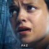 Póster de Paz en 'El Internado: Las Cumbres'