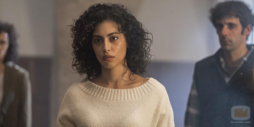 Mina El Hammani en 'El Internado: Las Cumbres'