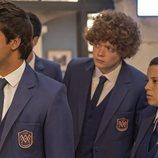 Paul, Julio y Paz en 'El Internado: Las Cumbres'