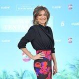 Sandra Barneda en la rueda de prensa de 'La isla de las tentaciones 3'