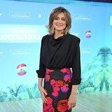 Sandra Barneda, presentadora de 'La isla de las tentaciones 3', en la rueda de prensa