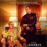 Cartel de Esteban y Andrei en 'Deudas'