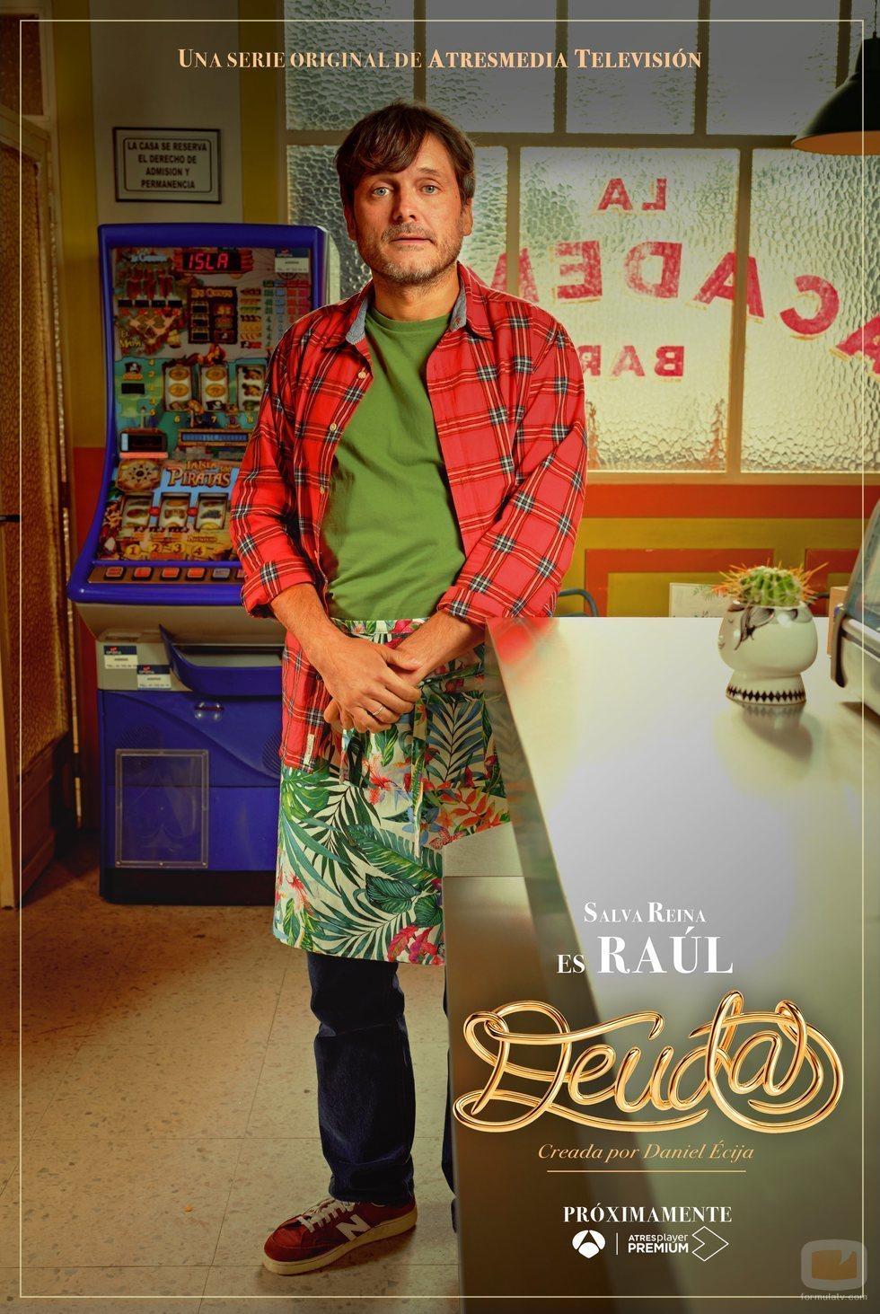 Cartel de Raúl en 'Deudas'