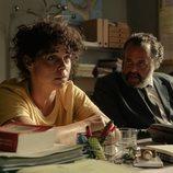 Candela Peña y Luifer Rodríguez en la segunda temporada de 'Hierro'