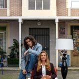 Pablo Álvarez y Lola Baldrich en la temporada 21 de 'Cuéntame'