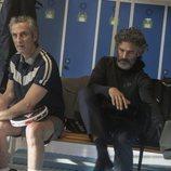 Leonardo Sbaraglia y Ernesto Alterio en 'Todos mienten'