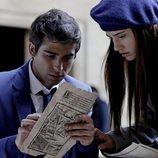 Paul y Amaia en 'El Internado: Las Cumbres'