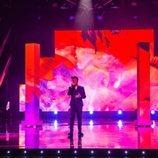 Blas Cantó interpreta sus temas en 'Destino Eurovisión'