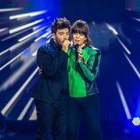 Blas Cantó con Vanesa Martín en 'Destino Eurovisión'