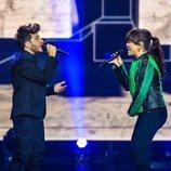 Blas Cantó canta con Vanesa Martín en 'Destino Eurovisión'