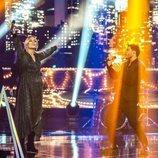 Edurne canta con Blas Cantó en 'Destino Eurovisión'