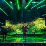 Blas Cantó en el escenario de 'Destino Eurovisión'