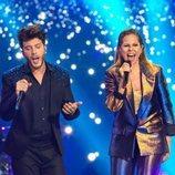 Pastora Soler y Blas Cantó en 'Destino Eurovisión'